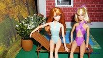Como fazer maiô (roupa de banho) para bonecas - miniatura faça você mesmo *sem costura