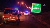 Motosiklet kamyona arkadan çarptı:1 ölü