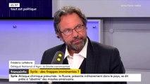 """Intervention en Syrie : """"Il faut vérifier qu'on n'est pas prisonnier d'une affaire intérieure américaine"""", prévient Frédéric Lefebvre, d'Agir"""