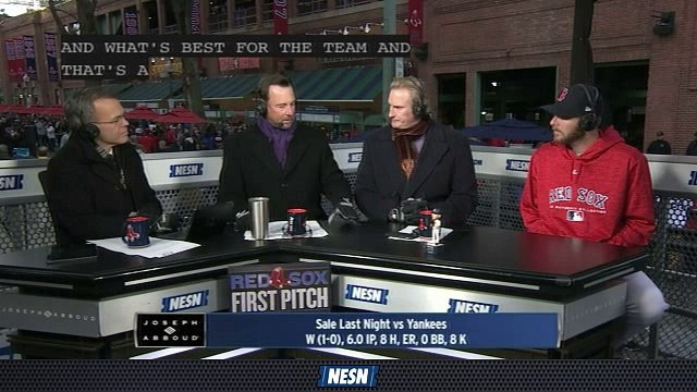 Red Sox First Pitch: Chris Sale Shed's Light On Red Sox Pitching Mentality