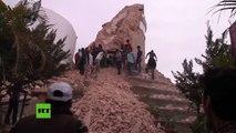 PRIMERAS IMÁGENES: Terremoto de 7,9 en Nepal deja muertos y numerosos derrumbes