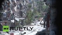 El Estado Islámico toma el control de un campamento de refugiados palestinos en Damasco