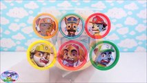 Paw Patrol Learning Colors Play Doh Learn Colours Surprise Egg and Toy Collector SETC