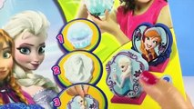 FROZEN ELSA ANNA STATUETTES Sculptor Kit Paint your own SHAKER MAKER How-To Disney Princess