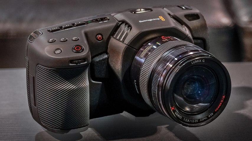 Blackmagic Pocket Cinema Camera4K : Prise en main