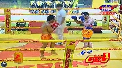 Khmer Boxing, Yuk Yeakkil vs Thai, Seatv Boxing, 8 April 2018