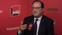 """François Hollande : """"La presse est menacée comme la démocratie l'est"""""""