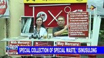 #SentroBalita: 'Special Collection of Special Waste,' isinusulong
