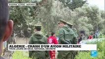 """""""L''identification des corps se poursuit"""" après le crash d''un avion militaire près d''Alger"""