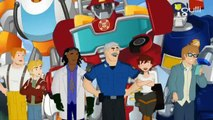Transformers Rescue Bots Mission Protection - Saison 4, Episode 11 Héros à temps partiel