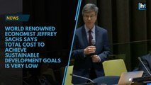 World-renowned economist Jeffrey Sachs speaks on some of the world's biggest issues