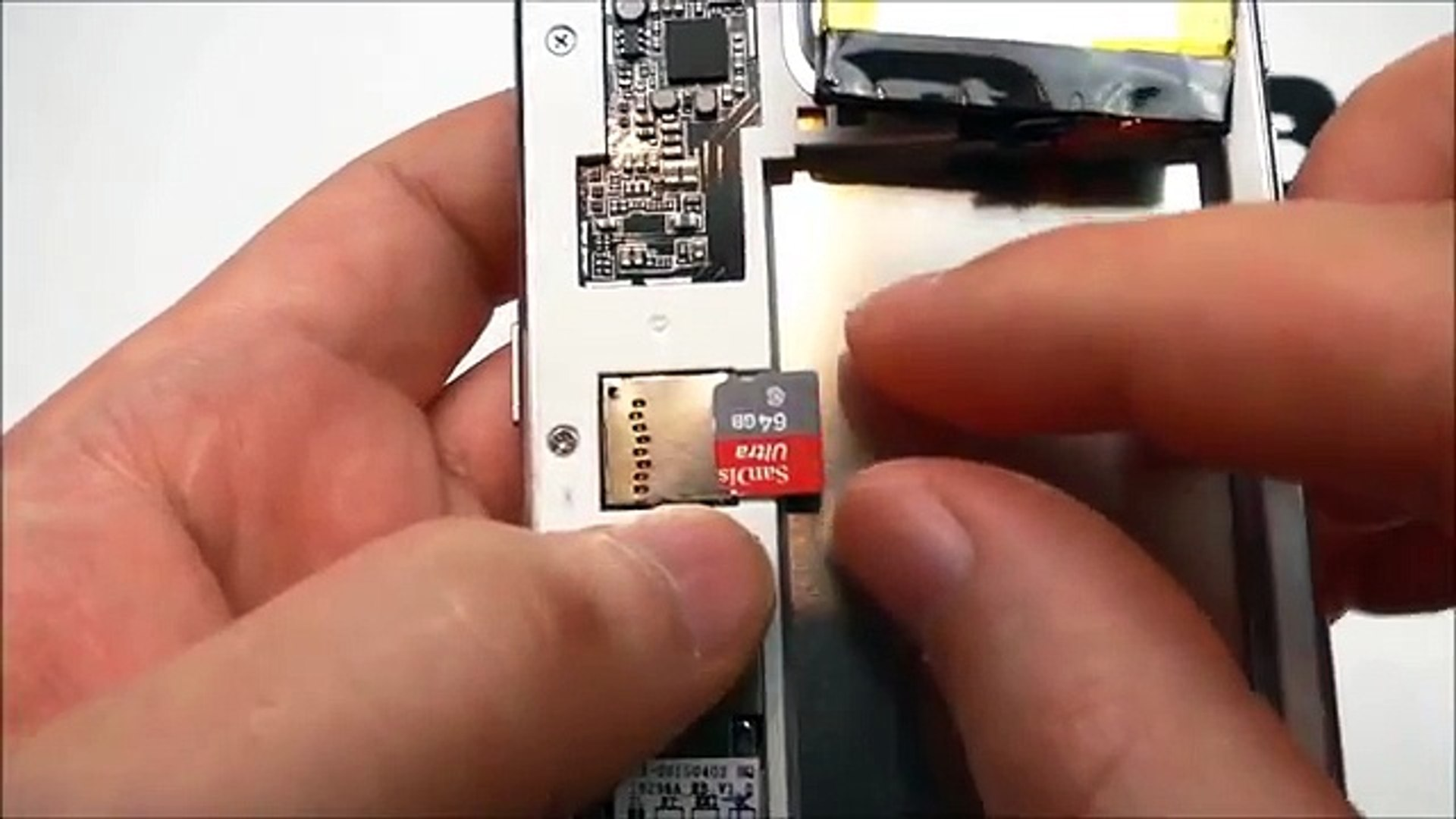 How to insert SD Card in the HDC Galaxy S6, MTK6582, Metalframe, 1:1 Samsung Galaxy S6 Replica