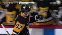 Hockey sur glace - La volée de Sidney Crosby