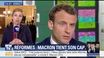 """""""Macron a bien choisi cette salle de classe pour délivrer ses contes pour enfants"""", déclare Autain"""