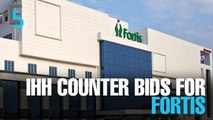 EVENING 5: IHH ready to counter bid for India's Fortis
