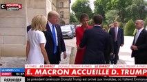 Brigitte Macron a 65 ans : revivez sa poignée de main gênante avec Donald Trump (vidéo)