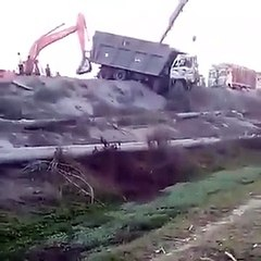 Muckshifting and Mining  Accident