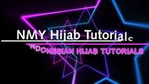 5 Gaya Hijab Segi Empat Bermotif Untuk Mengaji dan Pengajian #NMY Hijab Tutorials