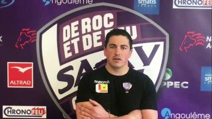 Victor Paquet avant SA XV - Grenoble