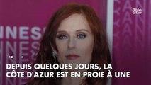 PHOTOS. A Cannes Séries, Audrey Fleurot n'est pas passée loin du drame vestimentaire !