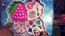 مكياج فروزن إلسا واَنـا مكياج حقيقي : لعبة مكياج البنات - Disney Princess frozen makeup anna elsa