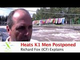 Heats Men's K1 Postponed - 2010 Worlds Canoe Slalom