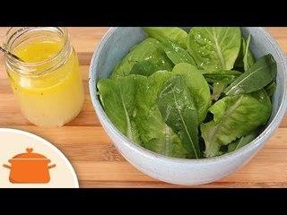 Como Fazer Molho Para Salada - Receita Básica