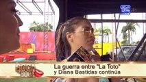 Sara Toscano se pronuncia sobre el enfrentamiento entre su cuñada y Diana Bastidas