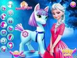 Disney Frozen Games | Elsa Pony Caring | Frozen Games For Kids Girls Games