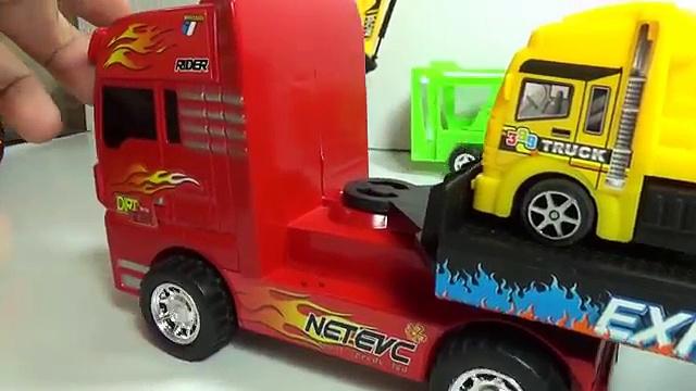trucks climb mother truck   trucks toy   car toy