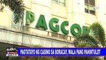 Pagtatayo ng casino sa Boracay, wala pang pahintulot