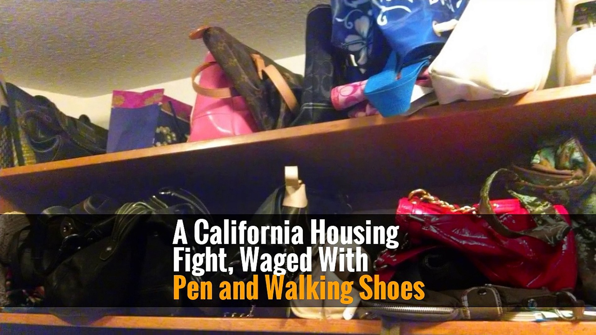A California Housing Fight, Waged With Pen and Walking Shoes