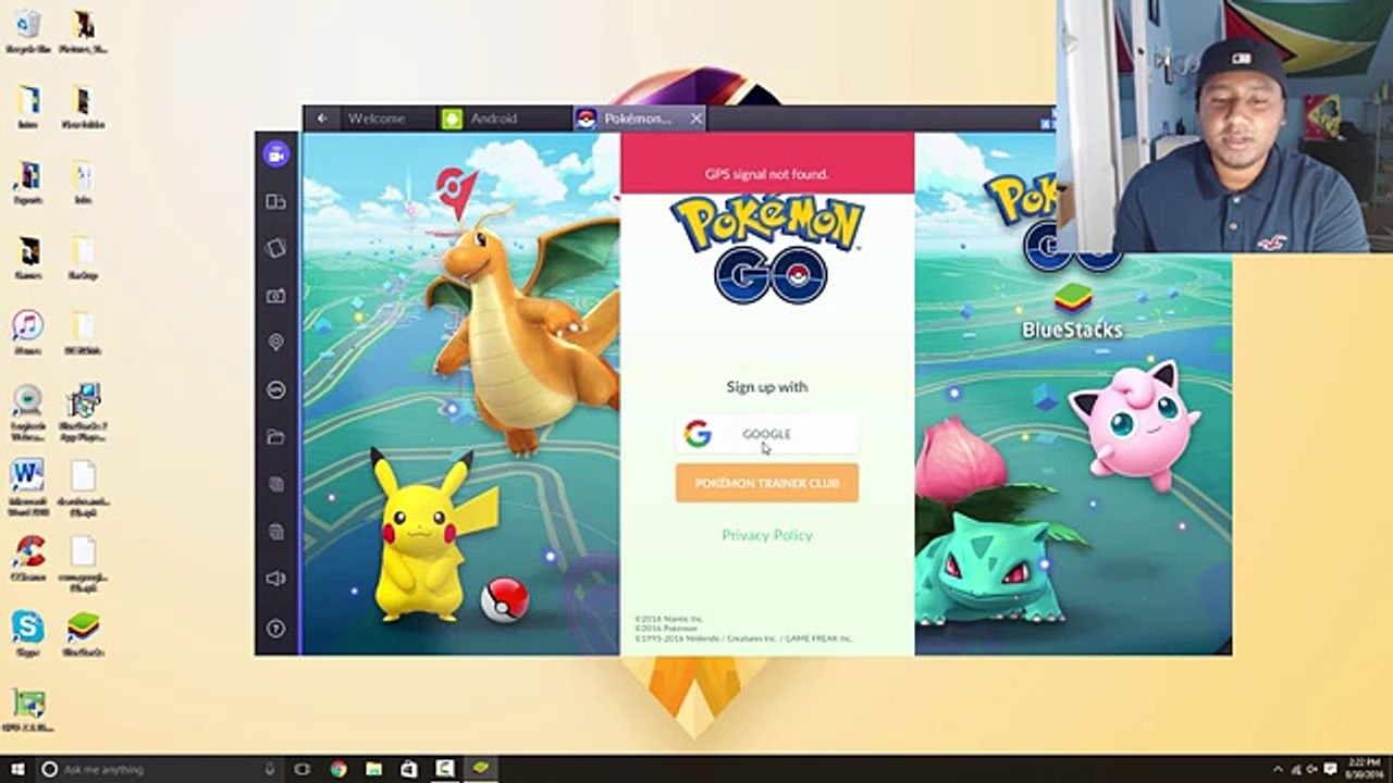 Play Pokemon Go on PC (Works All Versions, No Permanent Ban, Joystick, &  Teleport)!