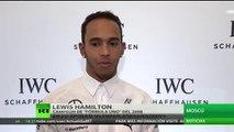 Lewis Hamilton habla en exclusiva con RT sobre el Gran Premio de Rusia de Fórmula 1