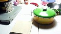 Kluma Tik Cooking - Eating a SPIDER!! Kluma Tik Dinner #1 | ASMR eating sounds no talk