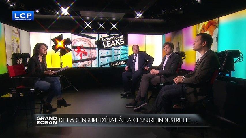GRAND ECRAN-De la censure d'Etat à la censure institutionnelle, débat présenté par Valérie Brochard