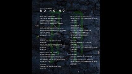 Patrick Dorgan - NoNoNo