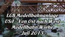 LGB Modellbahn USA in der Modellbahnschau Wiehe - Ein Video von Pennula für alle Freunde der Modelleisenbahn bzw. Modellbahn