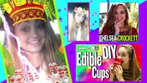 DIY Edible Snapchat Filters | EAT Snapchat | How To Make GIANT Snapchat App Edibles, Food & Treats!