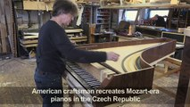 American brings Mozart-era pianos to life in Czech village