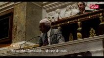 Aimé Césaire à l'Asssemblée