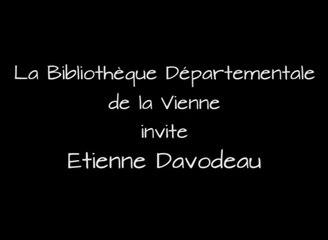 """Etienne DAVODEAU """"BD et monde rural"""""""