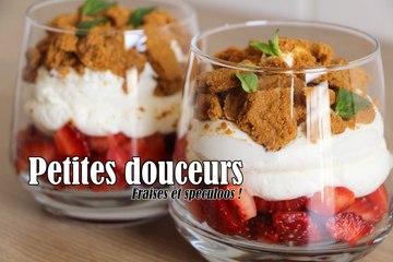 #LGDK : Petites douceurs fraises et speculoos