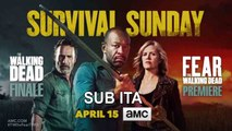 THE WALKING DEAD/FEAR THE WALKING DEAD Official Crossover Promo  AMC Series - SUB ITA