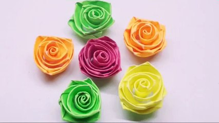 How to make Quilling Rose Flowers/ Paper Quilling Rose