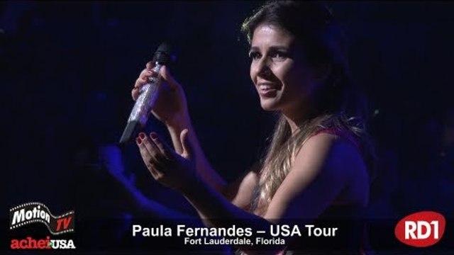 Melhores Momentos - Paula Fernandes - Show na Flórida, EUA - Turnê USA 2013
