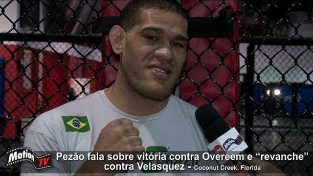 UFC - Pezão fala sobre a revanche contra Velasquez - Bigfoot talks revenge - Bigfoot vs Velasquez