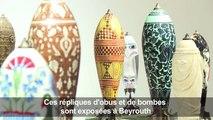 Une artiste libanaise transforme des munitions en œuvres d'art