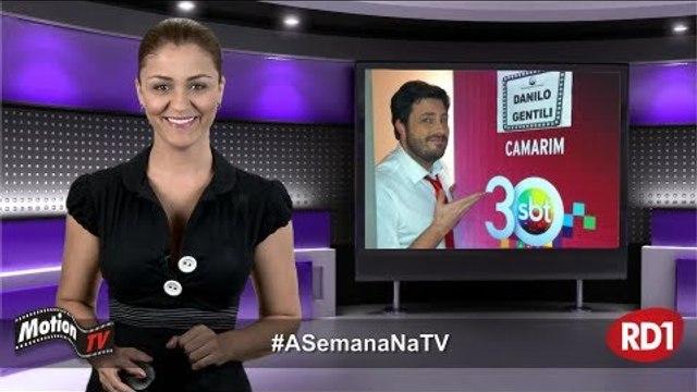 #ASemanaNaTV: Danilo Gentili ganha Troféu Imprensa e atenção de Silvio Santos - de 27/04 a 03/05/13