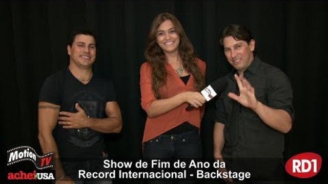 Eric e Matheus - Show de Fim de Ano Record Internacional - Brazil Celebration (entrevita)